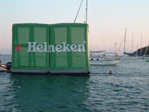 Heineken-Floating-Billboard